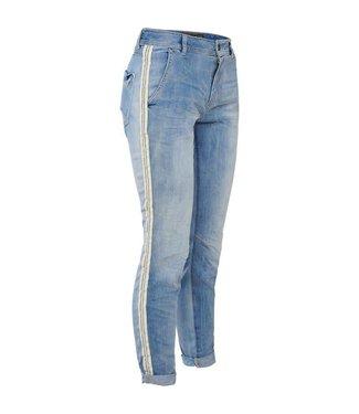 Summum 4s1659-10815 Jeans denim twill mix