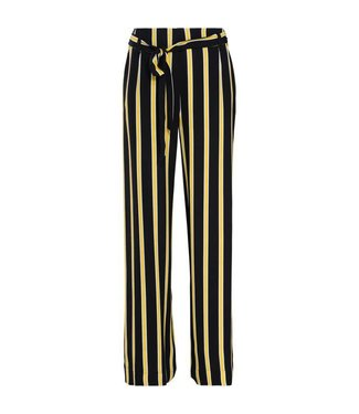 Summum 4s1676-10783 Trousers striped crepe viscose