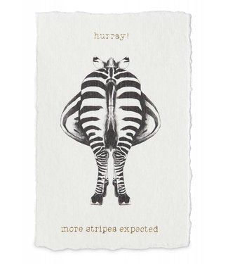 Yaya Home H200053 Postcard More stripes expected