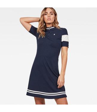 G-Star D13957-5864-6377 Cergy zip slim dress wmn s\s