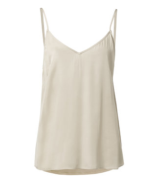 Yaya 190194-913 Strap top in fabric mix