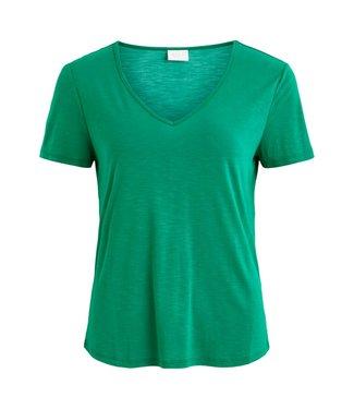 Vila 14050576 Vinoel s/s v-neck t-shirt-fav