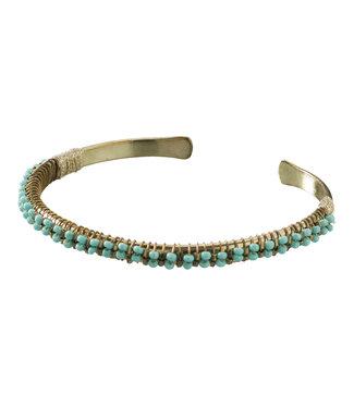 Yaya 133323-913 Cuff bracelett with beads