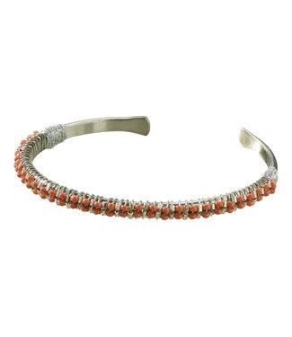 Yaya 133323-913 Cuff bracelett with beads.