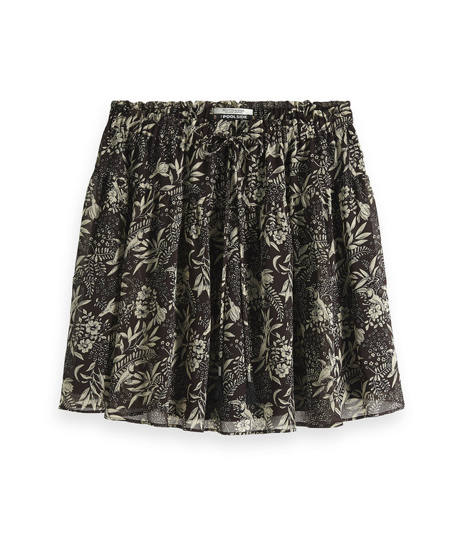Maison Scotch 149937 Printed flowy mini skirt