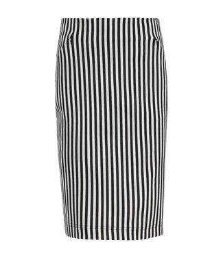 Summum 6s1089-10802 Skirt stripe stretch