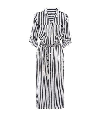 Summum 2s2236-10913 Summer / Tunic cotton voile stripe