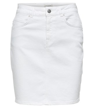 Selected Femme 16067831 Slfkenna hw witte denim skirt