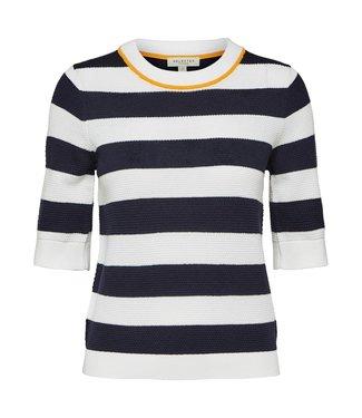 Selected Femme 16067287 Slfmilano 2/4 knit o-neck