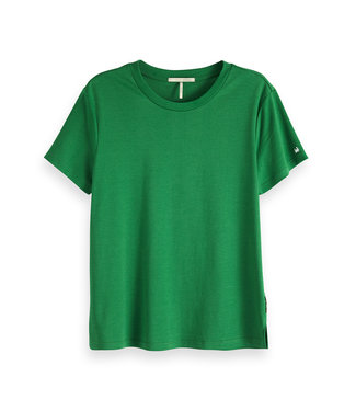 Maison Scotch 150187 Mercresired relaxed fit tee with artwork