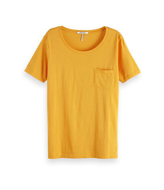 Maison Scotch 150192 Basic Tee in prints and solids