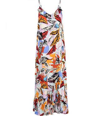 Summum 5s1111-11092 Dress spaghetti Multicolor print