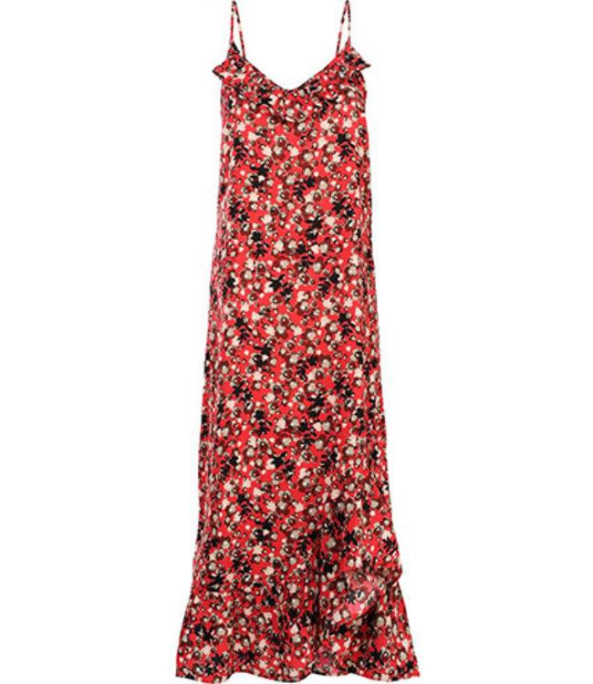 Summum 5s1111-11096 Dress Red flower print