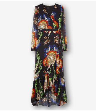 Alix 194312213 ladies woven fancy chiffon dress