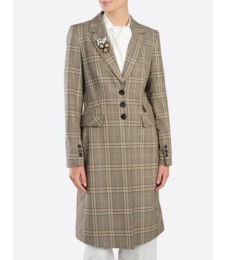 Summum 1s960-10956 Blazer lurex check