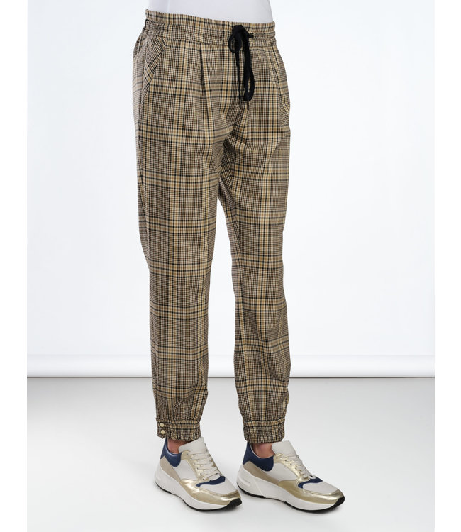 Summum 4s1837-10956 Trousers lurex check