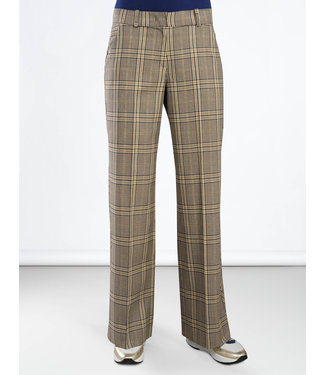 Summum 4s1844-10956 Trousers wide leg lurex check