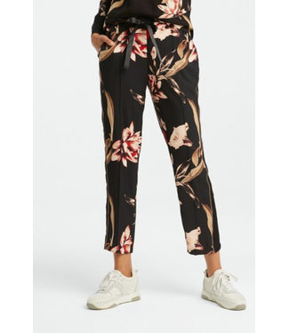 Yaya 120165-921 Trousers with floral print