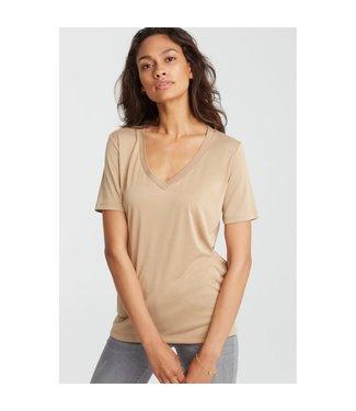 Yaya 190961-921 Basic V-neck T-shirt