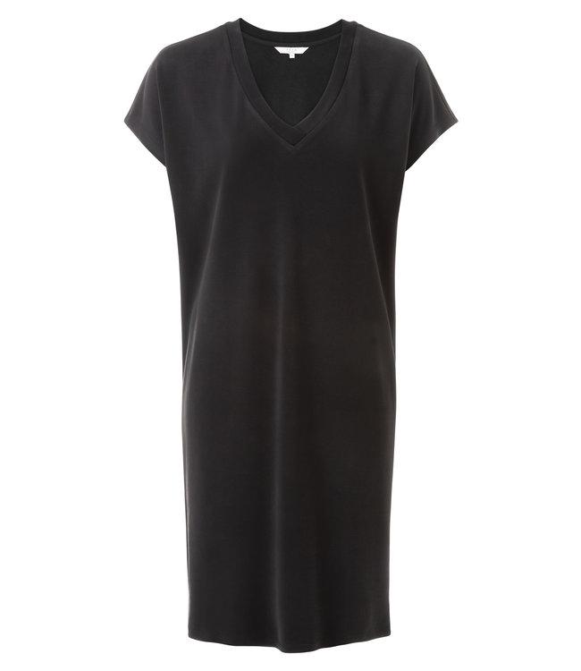 Yaya 1809159-921 Basic V-neck dress