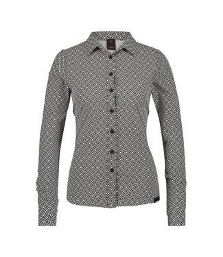 Penn&Ink W19N593C blouse stripe
