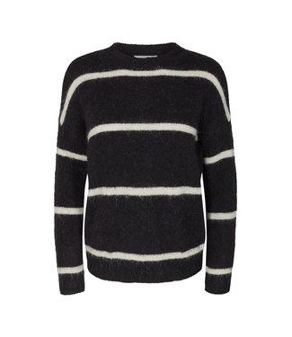 MOSS Copenhagen 14304 Femme Alpaca Stripe Pullover
