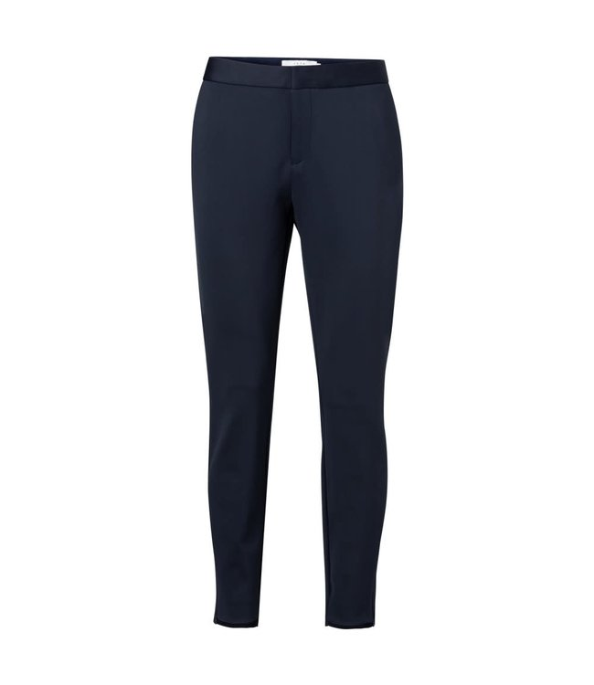 Yaya 121941-922 Jersey slim-fitted trousers