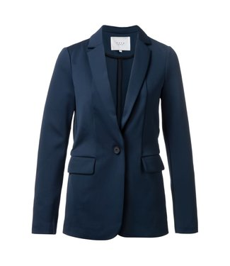 Yaya 150943-922 Jersey slim-fitted blazer