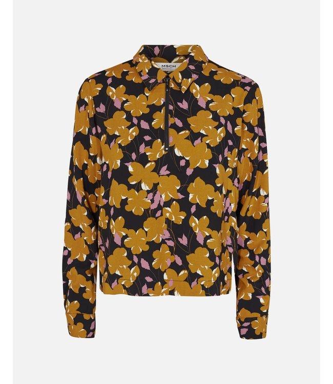 MOSS Copenhagen 14337 Celia Turid LS Shirt Aop