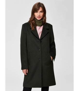 Selected Femme 16064571 SLFSASJA WOOL COAT B NOOS