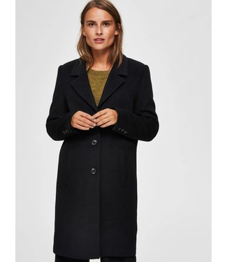 Selected Femme 16064571 SLFSASJA WOOL COAT B NOOS.