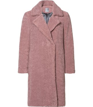 Geisha 98505-11 Long teddy coat