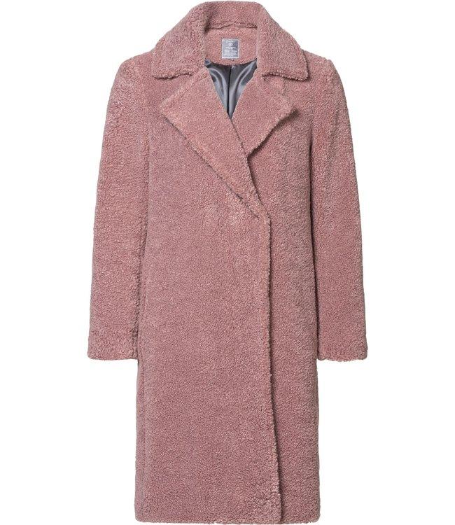 Geisha 98505-11 Long teddy coat