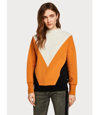 Amsterdams Blauw 150682 Color block sweat