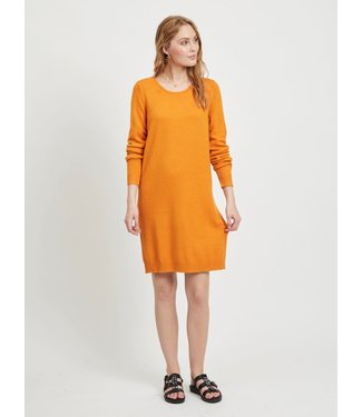 Vila 14042768 VIRIL L/S KNIT DRESS - NOOS.