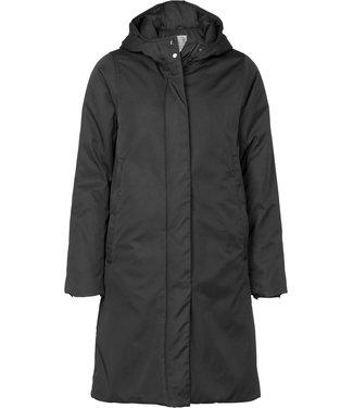 Geisha 98521-11 Plain long jacket with hood