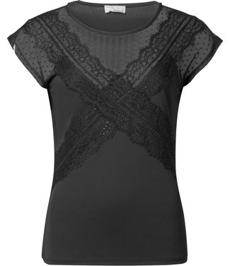 Geisha 93560-46 Top SS with lace