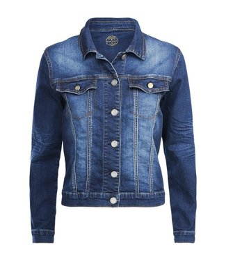 Summum 1s944-5002 Jacket denim sanded denim