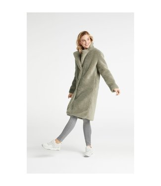 Yaya 161131-923 Long teddy coat