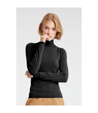Yaya 100021-923 High neck sweater with button