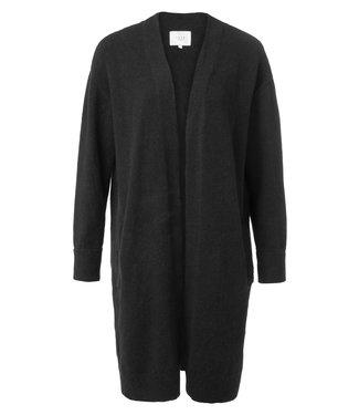Yaya 101038-923 Long cardigan with side pockets