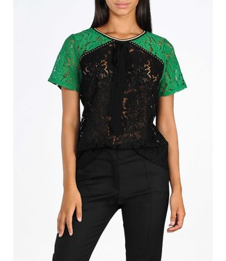 Summum Woman 3s4307-30096 Short sleeve lace