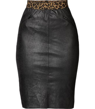 Geisha 96506-10 Skirt fake snake suede fancy waist