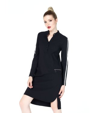 Jane Lushka UB919AW25 Side Stripe Tunic Dress
