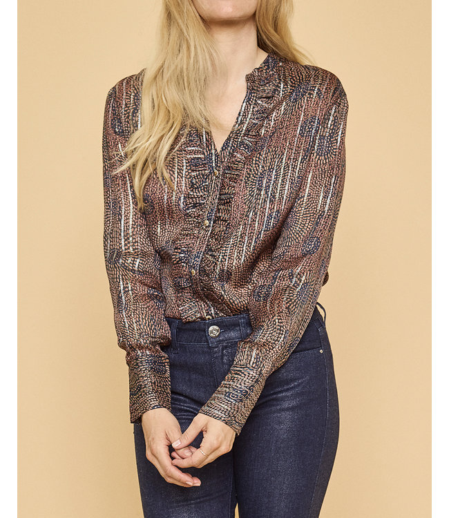 Mos Mosh 130370 Damia Peacock Shirt