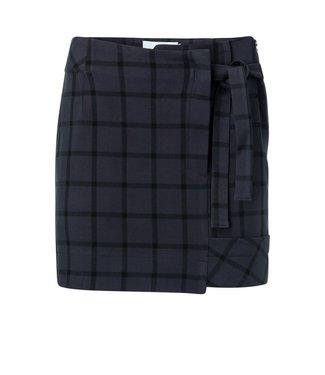 Yaya 140156-924 Mini skirt with checked print