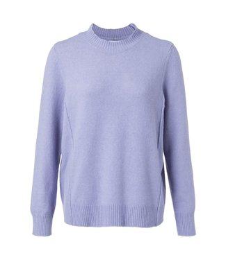 Yaya 1000224-924 Sweater with seamlines