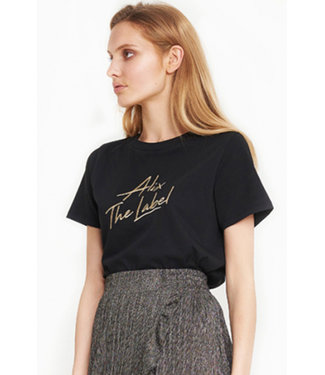 Alix the Label 197891372 ladies knitted embroidered t-shirt