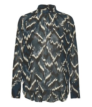 Soaked in Luxury 30404410 SLKelby Blouse LS