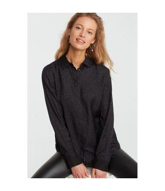 Yaya 1101132-925 Silk shirt with dots print